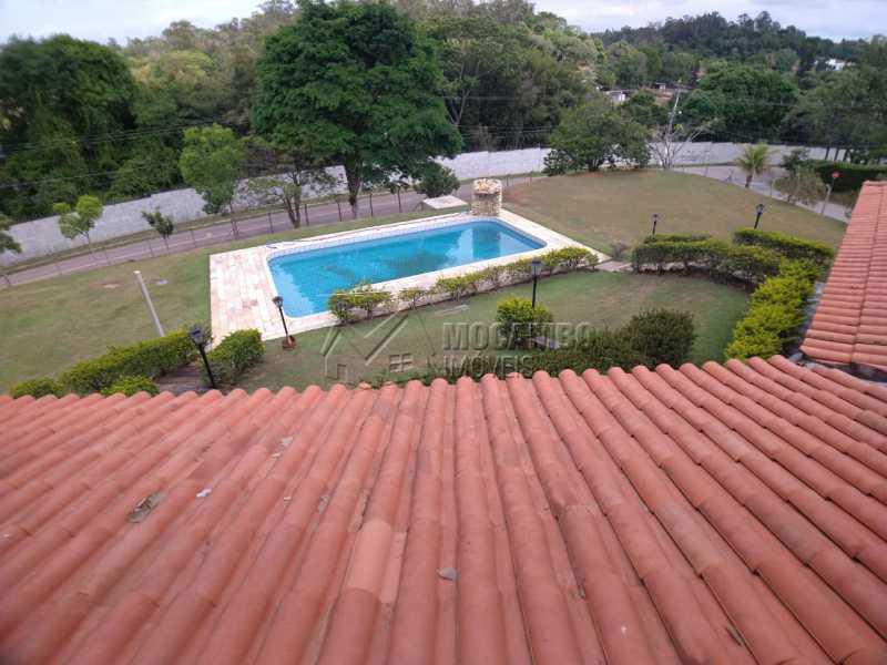 Vista do mezanino - Casa em Condomínio 4 quartos para venda e aluguel Itatiba,SP - R$ 9.000 - FCCN40171 - 18