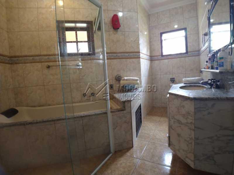 Banheiro suíte - Casa em Condomínio 4 quartos para venda e aluguel Itatiba,SP - R$ 9.000 - FCCN40171 - 26