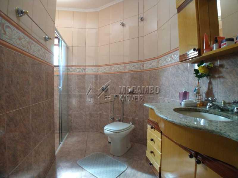 Banheiro suíte - Casa em Condomínio 4 quartos para venda e aluguel Itatiba,SP - R$ 9.000 - FCCN40171 - 27