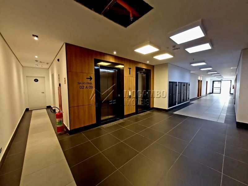 Hall de acesso a sala. - Sala Comercial 38m² para alugar Itatiba,SP - R$ 1.300 - FCSL00230 - 13