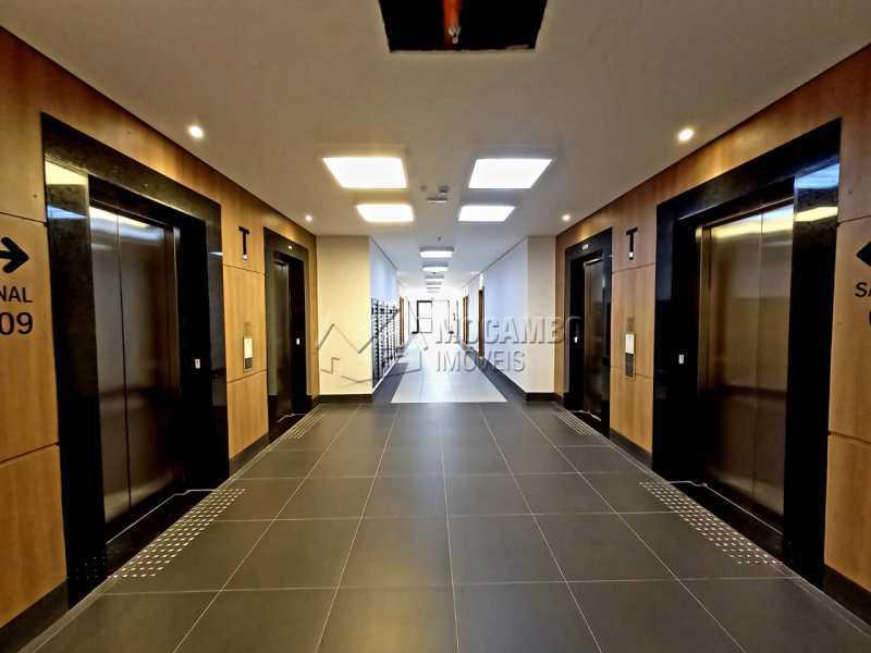 Hall de acesso a sala. - Sala Comercial 38m² para alugar Itatiba,SP - R$ 1.300 - FCSL00230 - 14