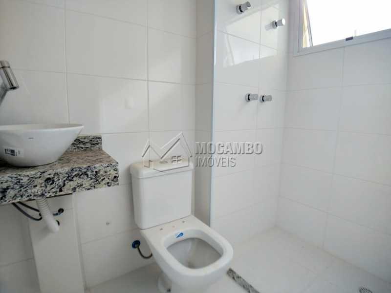 Banheiro  - Apartamento 2 quartos à venda Itatiba,SP - R$ 340.000 - FCAP21172 - 11