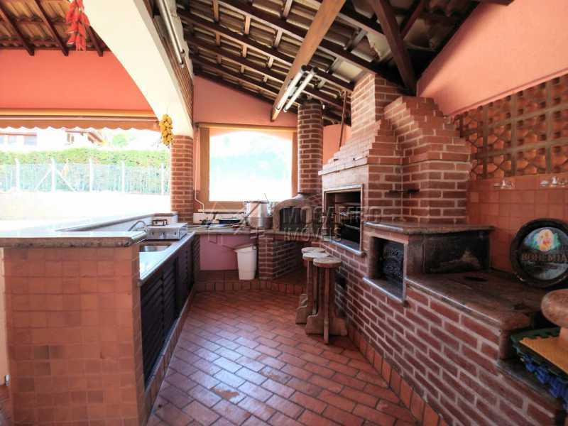Churrasqueira - Casa em Condomínio 5 quartos à venda Itatiba,SP - R$ 2.200.000 - FCCN50039 - 18