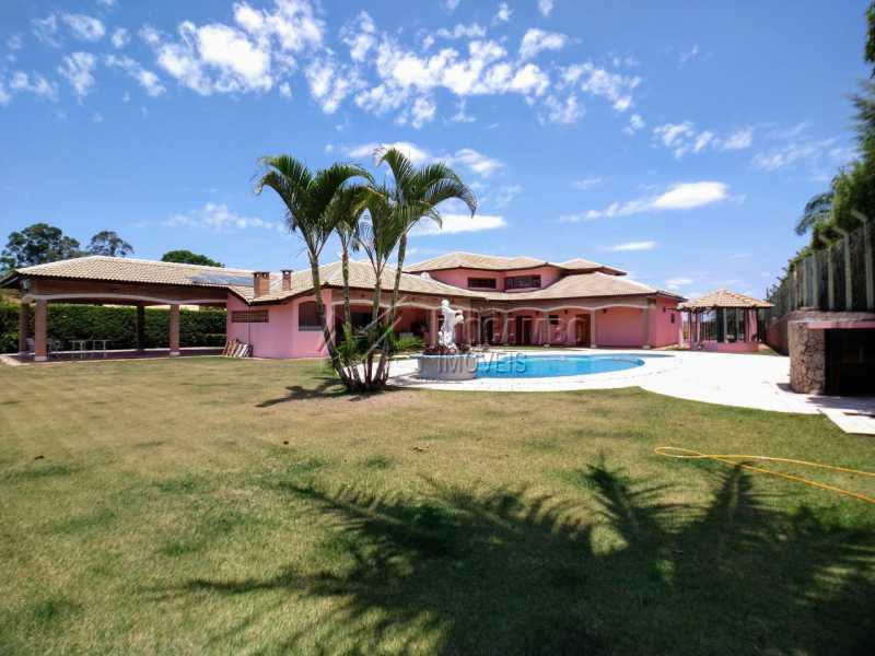 Área Externa - Casa em Condomínio 5 quartos à venda Itatiba,SP - R$ 2.200.000 - FCCN50039 - 23