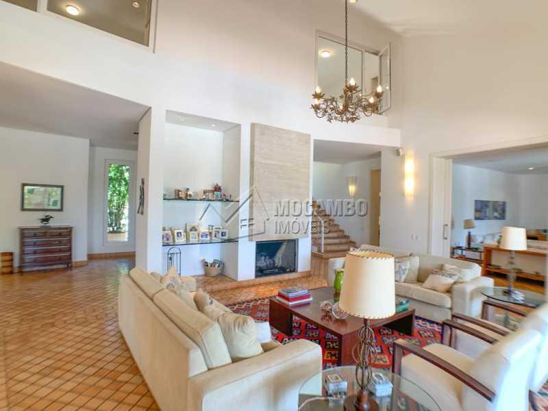 Sala pé direito alto - Casa em Condomínio 10 quartos à venda Bragança Paulista,SP - R$ 13.980.000 - FCCN100002 - 3