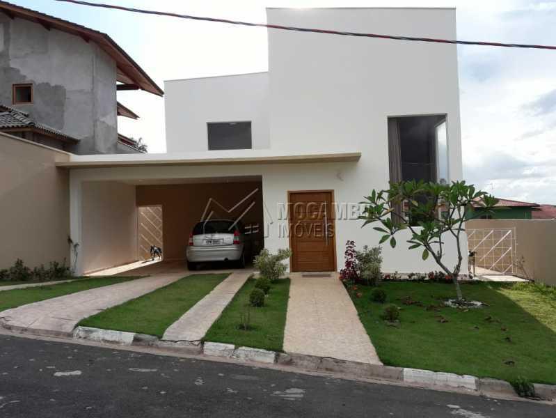 Fachada - Casa em Condomínio 3 quartos à venda Itatiba,SP - R$ 700.000 - FCCN30505 - 1