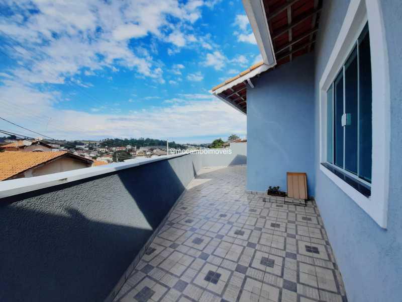 Lateral - Casa 3 quartos à venda Itatiba,SP - R$ 460.000 - FCCA31412 - 3