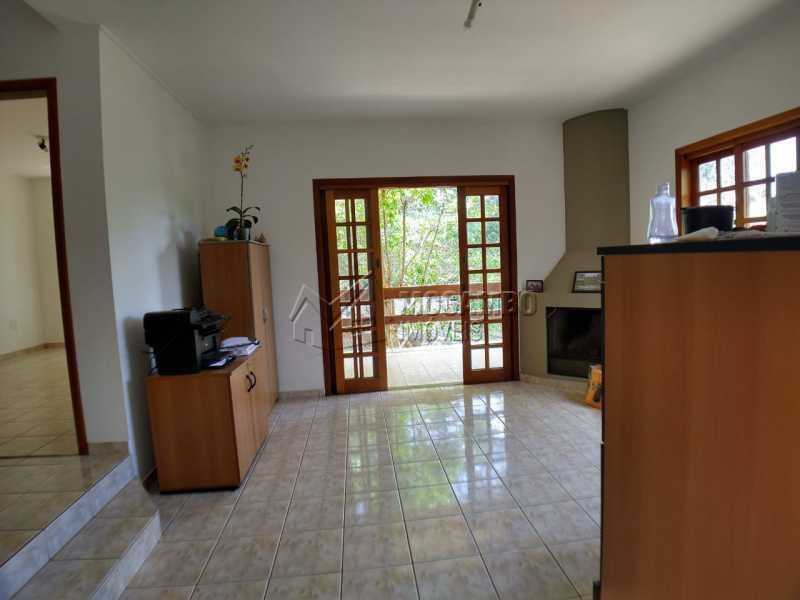 Sala de estar - Casa em Condomínio 3 quartos à venda Itatiba,SP - R$ 1.200.000 - FCCN30506 - 8