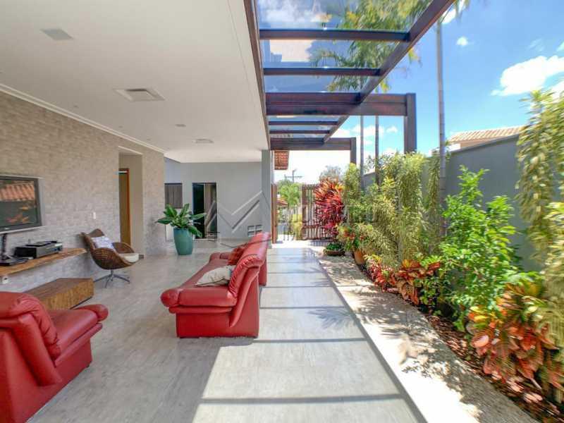 Espaço externo - Casa em Condomínio 4 quartos à venda Itatiba,SP - R$ 2.500.000 - FCCN40173 - 3