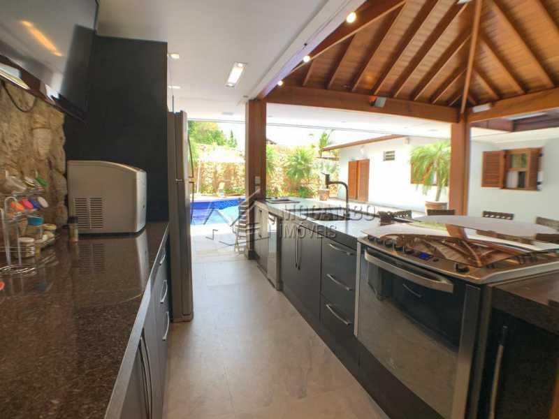 Espaço Gourmet - Casa em Condomínio 4 quartos à venda Itatiba,SP - R$ 2.500.000 - FCCN40173 - 5