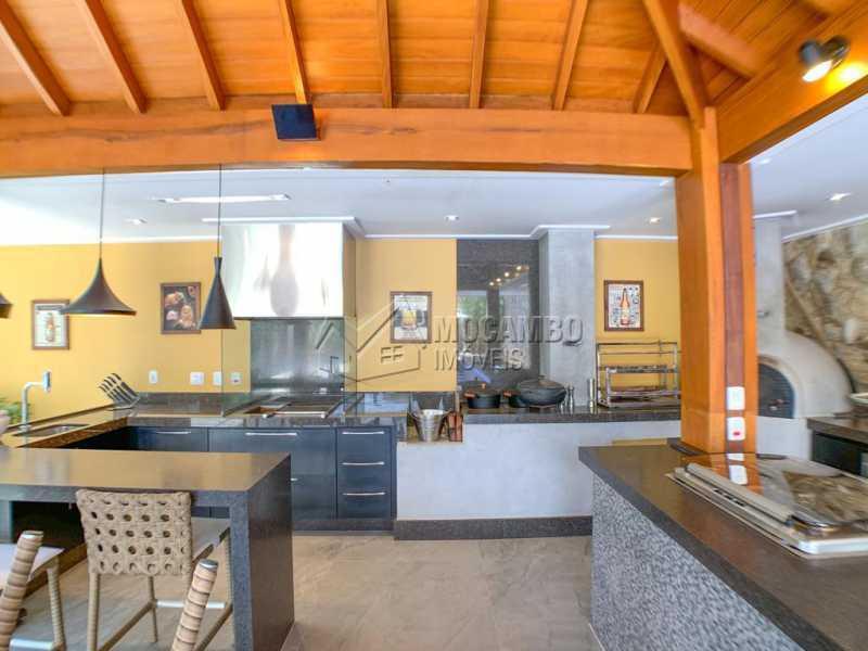 Espaço Gourmet - Casa em Condomínio 4 quartos à venda Itatiba,SP - R$ 2.500.000 - FCCN40173 - 6
