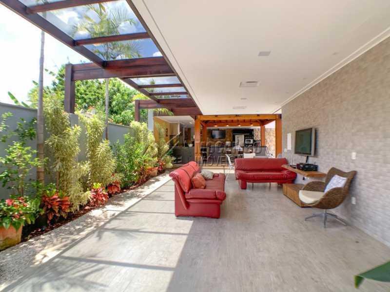 Espaço externo - Casa em Condomínio 4 quartos à venda Itatiba,SP - R$ 2.500.000 - FCCN40173 - 9