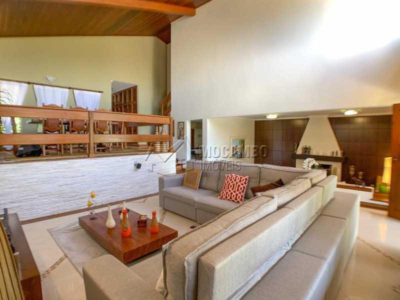 Sala - Casa em Condomínio 4 quartos à venda Itatiba,SP - R$ 2.500.000 - FCCN40173 - 15