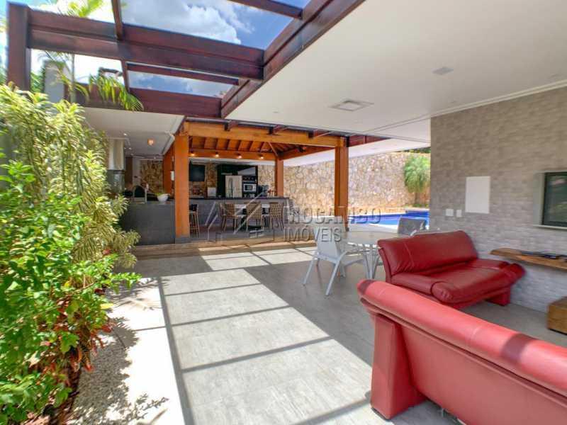 Espaço externo - Casa em Condomínio 4 quartos à venda Itatiba,SP - R$ 2.500.000 - FCCN40173 - 16