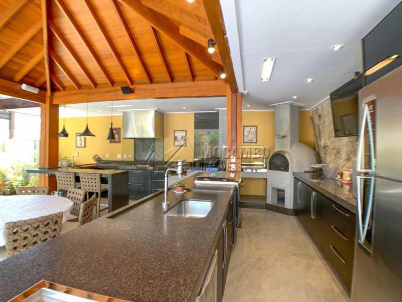 Espaço Gourmet - Casa em Condomínio 4 quartos à venda Itatiba,SP - R$ 2.500.000 - FCCN40173 - 17