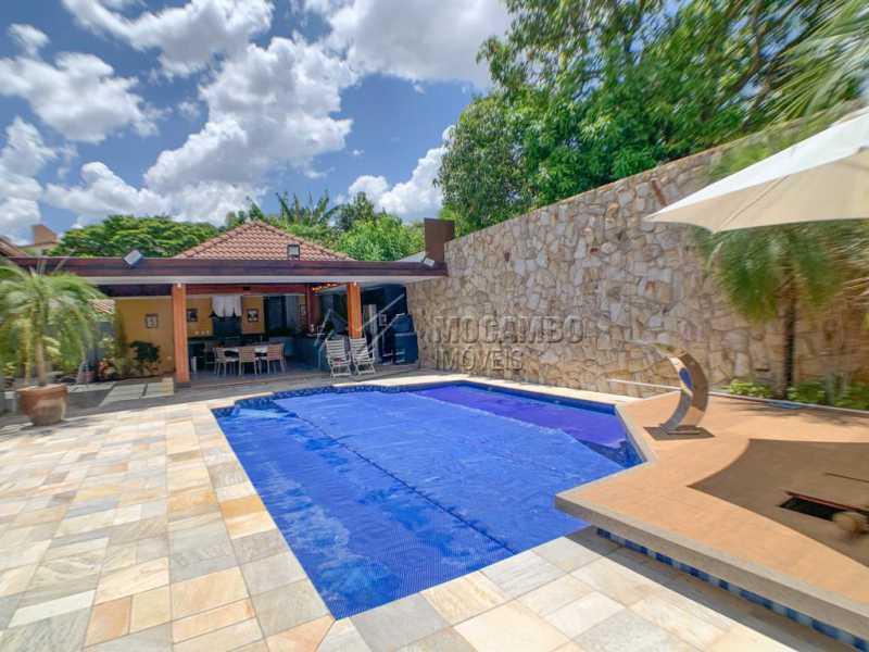 Piscina - Casa em Condomínio 4 quartos à venda Itatiba,SP - R$ 2.500.000 - FCCN40173 - 24