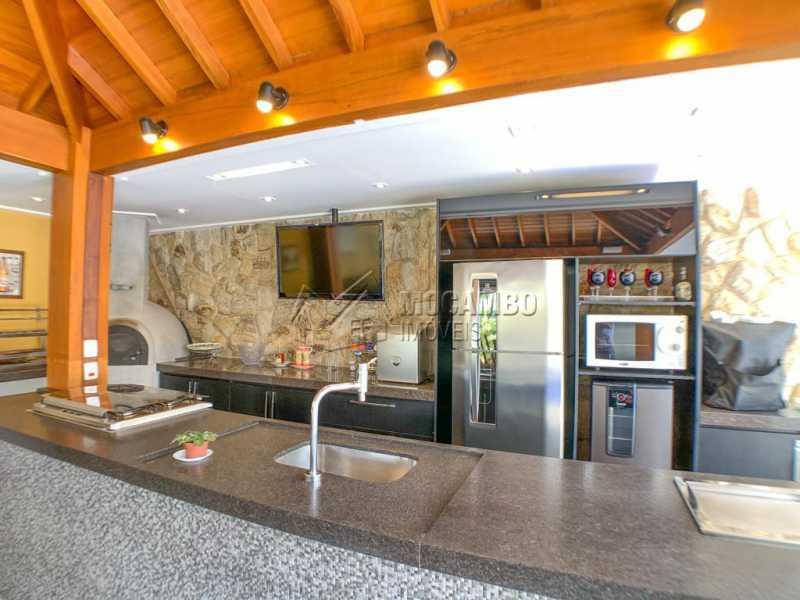 Espaço Gourmet - Casa em Condomínio 4 quartos à venda Itatiba,SP - R$ 2.500.000 - FCCN40173 - 25