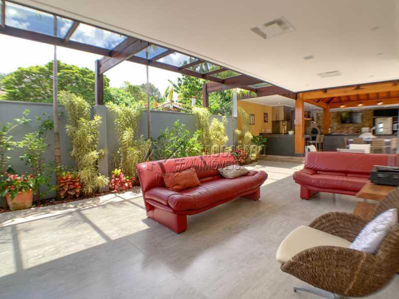 Espaço externo - Casa em Condomínio 4 quartos à venda Itatiba,SP - R$ 2.500.000 - FCCN40173 - 27