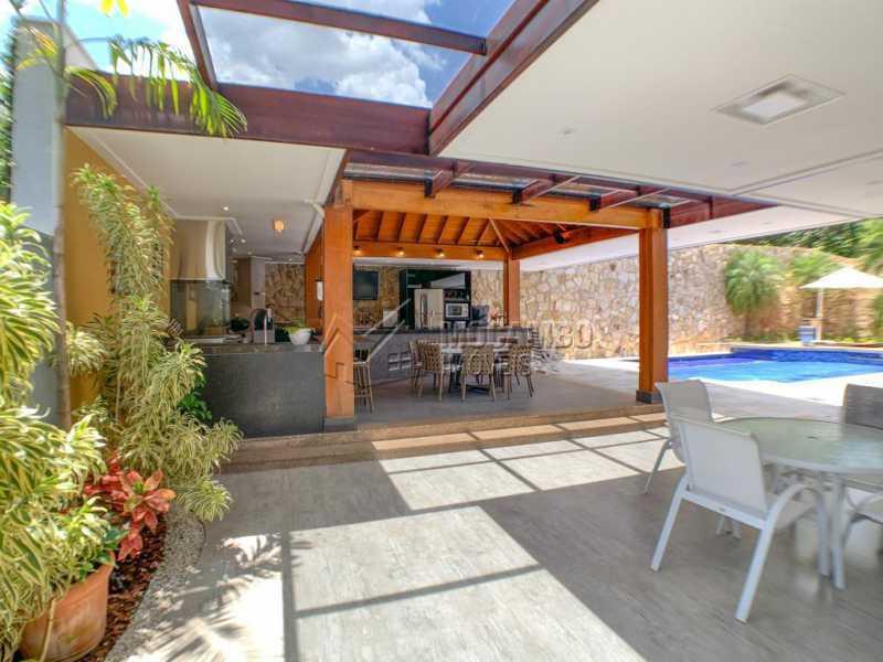 Espaço externo - Casa em Condomínio 4 quartos à venda Itatiba,SP - R$ 2.500.000 - FCCN40173 - 31