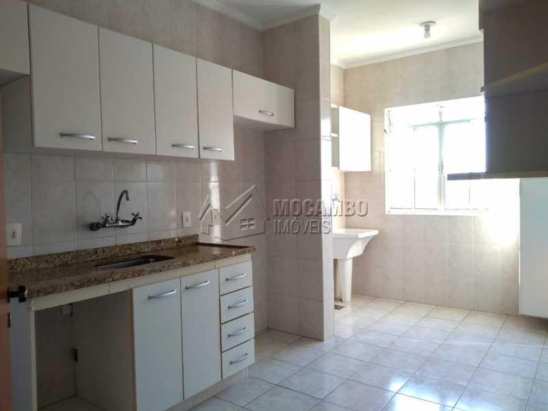 cozinha com lavanderia - Apartamento 2 quartos à venda Itatiba,SP - R$ 280.000 - FCAP21181 - 6