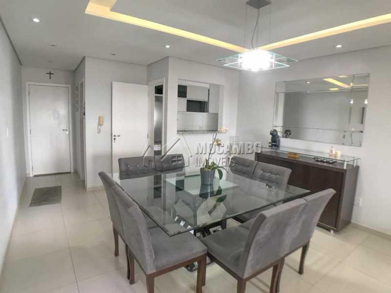 Sala de Jantar - Apartamento 3 quartos à venda Itatiba,SP - R$ 690.000 - FCAP30590 - 4