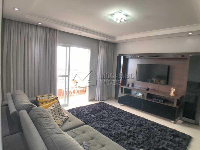 Sala de Estar - Apartamento 3 quartos à venda Itatiba,SP - R$ 690.000 - FCAP30590 - 3