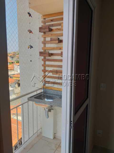 Varanda  - Apartamento 2 quartos à venda Itatiba,SP - R$ 205.000 - FCAP21184 - 5