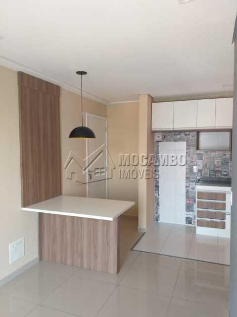 Sala/Cozinha - Apartamento 2 quartos à venda Itatiba,SP - R$ 205.000 - FCAP21184 - 4