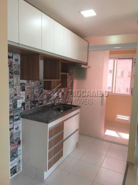 Cozinha - Apartamento 2 quartos à venda Itatiba,SP - R$ 205.000 - FCAP21184 - 1