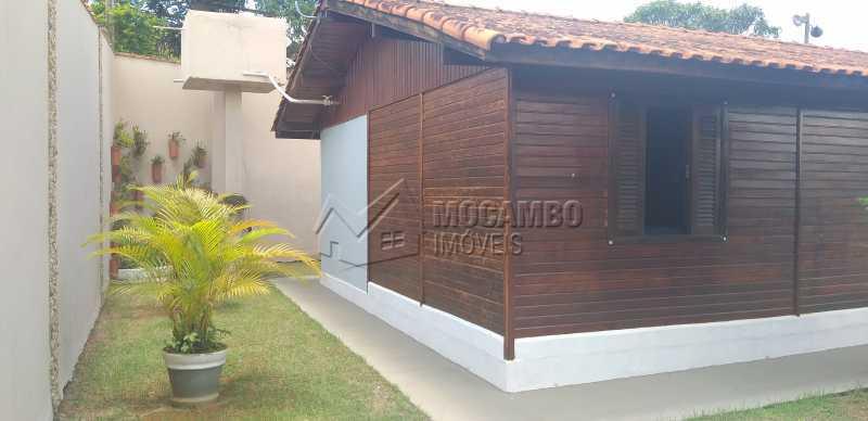 lateral casa - Chácara 1000m² à venda Itatiba,SP - R$ 530.000 - FCCH30118 - 9