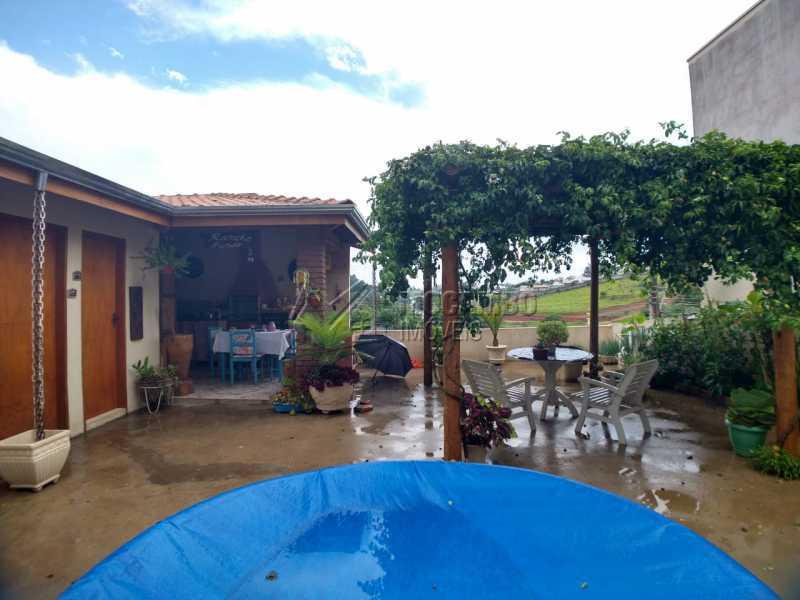 Quintal - Casa 2 quartos à venda Itatiba,SP - R$ 375.000 - FCCA21428 - 14