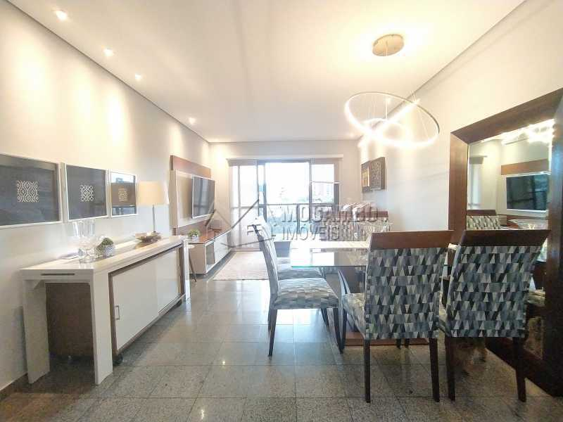 Sala - Apartamento 2 quartos à venda Itatiba,SP - R$ 480.000 - FCAP21187 - 1