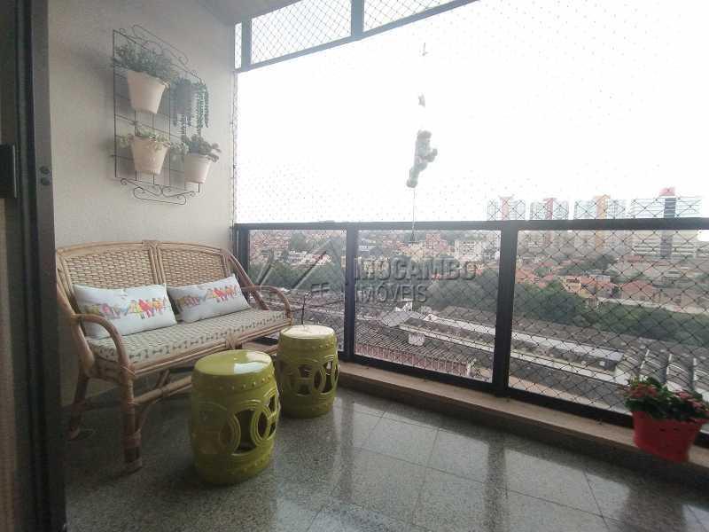 Varanda - Apartamento 2 quartos à venda Itatiba,SP - R$ 480.000 - FCAP21187 - 4