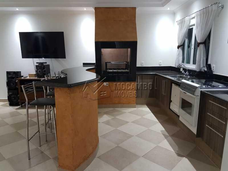 Espaço Gourmet - Casa em Condomínio 3 quartos à venda Itatiba,SP - R$ 1.960.000 - FCCN30509 - 5