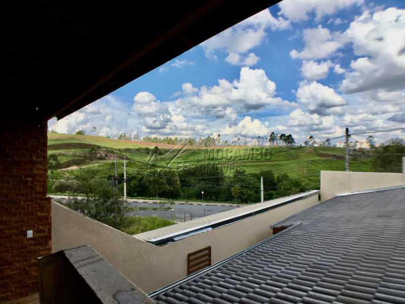 Vista da churrasqueira - Casa 2 quartos à venda Itatiba,SP - R$ 350.000 - FCCA21437 - 15