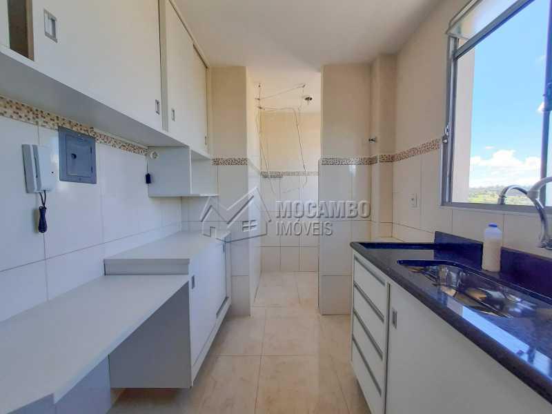 Cozinha - Apartamento 2 quartos à venda Itatiba,SP - R$ 155.000 - FCAP21194 - 1