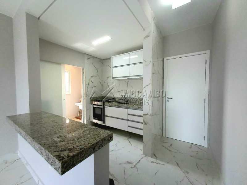 Entrada e Cozinha - Apartamento 3 quartos à venda Itatiba,SP - R$ 479.800 - FCAP30594 - 1