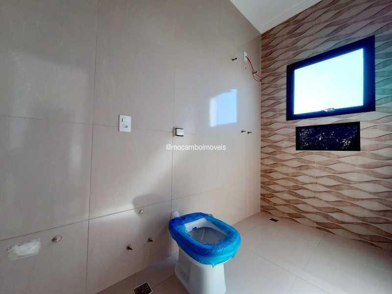 Banheiro da suíte 1 - Casa em Condomínio 3 quartos à venda Itatiba,SP - R$ 890.000 - FCCN30514 - 22