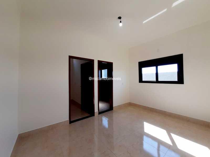 Suíte  máster  - Casa em Condomínio 3 quartos à venda Itatiba,SP - R$ 890.000 - FCCN30514 - 25