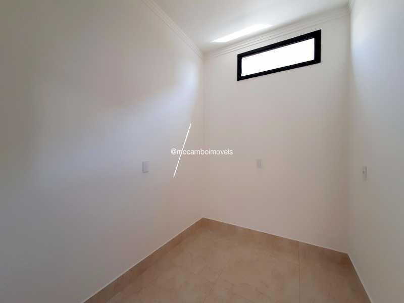 Closet Suíte máster - Casa em Condomínio 3 quartos à venda Itatiba,SP - R$ 890.000 - FCCN30514 - 27