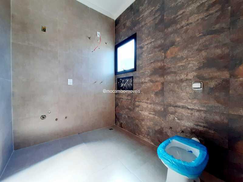 Banheiro da suíte máster  - Casa em Condomínio 3 quartos à venda Itatiba,SP - R$ 890.000 - FCCN30514 - 26