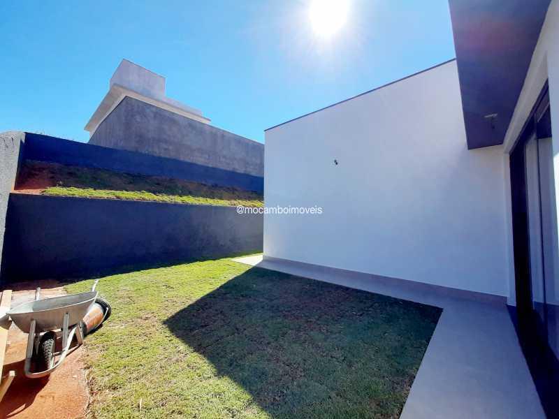 Quintal - Casa em Condomínio 3 quartos à venda Itatiba,SP - R$ 890.000 - FCCN30514 - 16