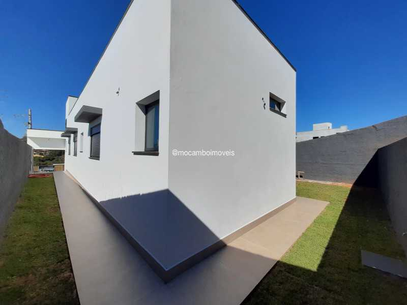 Vista lateral - Casa em Condomínio 3 quartos à venda Itatiba,SP - R$ 890.000 - FCCN30514 - 17