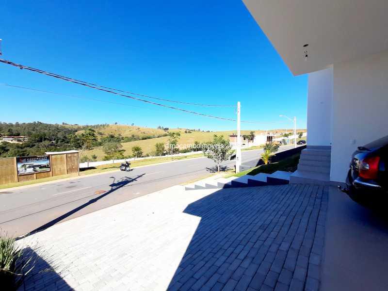 Vista da garagem - Casa em Condomínio 3 quartos à venda Itatiba,SP - R$ 890.000 - FCCN30514 - 5