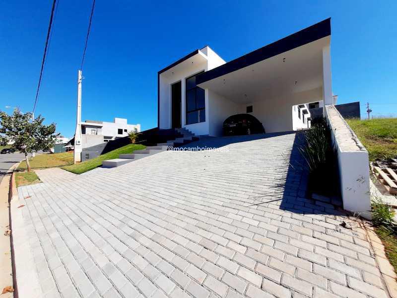 Fachada - Casa em Condomínio 3 quartos à venda Itatiba,SP - R$ 890.000 - FCCN30514 - 4