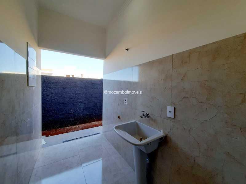 Lavanderia  - Casa em Condomínio 3 quartos à venda Itatiba,SP - R$ 890.000 - FCCN30514 - 18