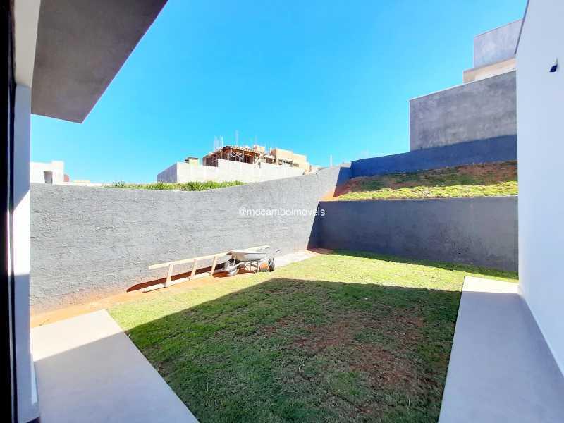 Quintal - Casa em Condomínio 3 quartos à venda Itatiba,SP - R$ 890.000 - FCCN30514 - 14