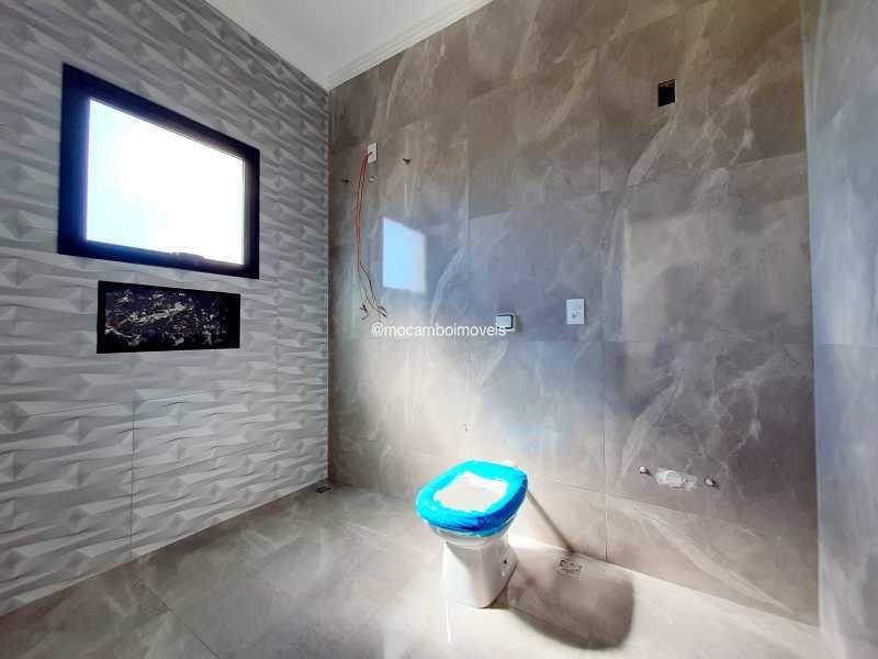Banheiro da suíte 2 - Casa em Condomínio 3 quartos à venda Itatiba,SP - R$ 890.000 - FCCN30514 - 24