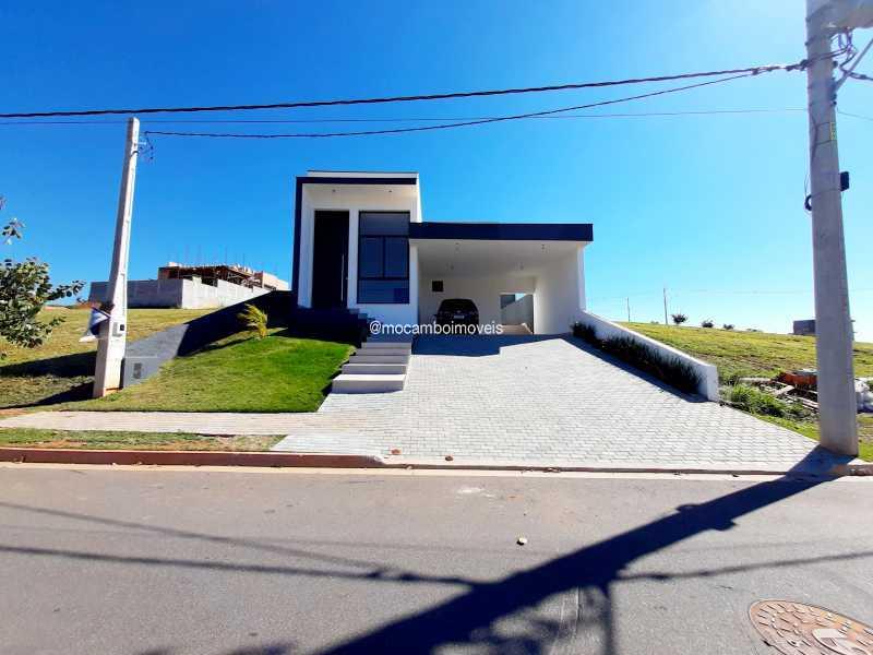 Fachada  - Casa em Condomínio 3 quartos à venda Itatiba,SP - R$ 890.000 - FCCN30514 - 1