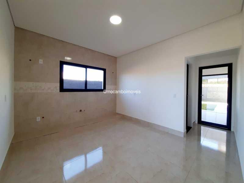 Cozinha  - Casa em Condomínio 3 quartos à venda Itatiba,SP - R$ 890.000 - FCCN30514 - 11